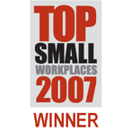 Top Small Workplaces 2007 Winner